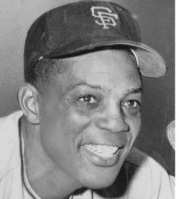 WILLIE MAYS BASEBALL PLAYER