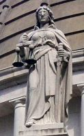 LADY JUSTICE THEMIS PERSONIFICATION