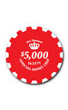 RED OFFICIAL MONEY CHIP 5000