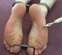 BDSM BOUND BAREFEET