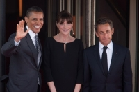 OBAMA CARLA BRUNI SARKOZY