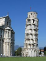 PHALLUS ARCHITECTURE LEANING TOWER OF PISA